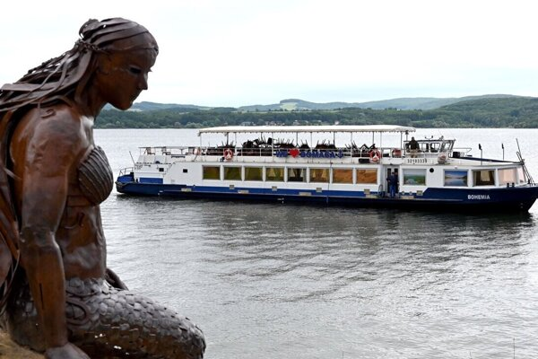 Loď Bohemia na Domaši.