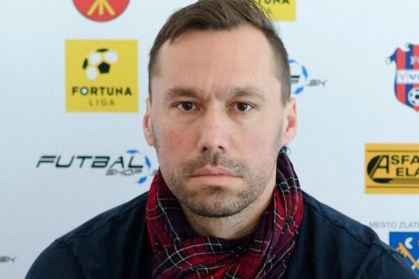 Športový riaditeľ FC ViOn Juraj Koprda.
