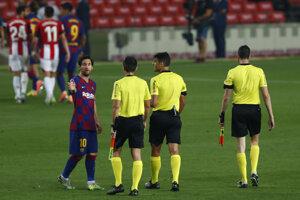 Lionel Messi na ilustračnej fotografii.