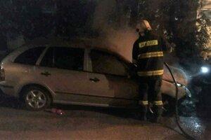 Zásah hasičov na Furči.