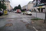 Ulica Antona Bernoláka v Žiline.