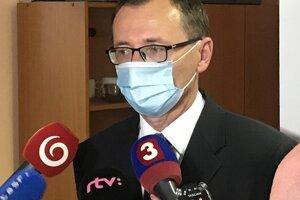 Ľubomír Šarník, nový riaditeľ prešovskej nemocnice.