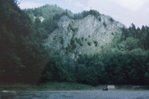 Pohľad na poľskú časť národného parku Pieniny.