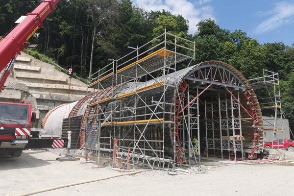 Tunel Prešov je o krok bližšie k dokončeniu.