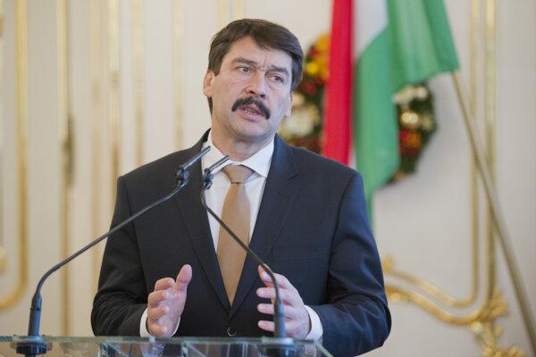 Maďarský prezident János Áder.