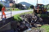 V Pichniach a Zubnom po záplavách čistia korytá riek