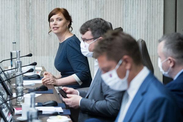 Vicepremiérka a ministerka pre regionálny rozvoj a investície Veronika Remišová.