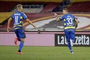 Juraj Kucka (vpravo) sa raduje zo svojho gólu.
