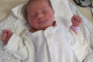 Anežka Kadlecová (3510 g, 52 cm) sa narodila 18. júna Barbore a Štefanovi z Trenčianskej Teplej-Dobrej.
