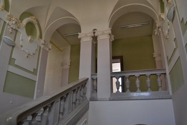 Zrekonštruované priestory radnice.