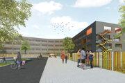 Vizualizácia školy v projekte Slnečnice.