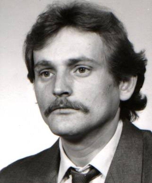 Hľadaný 50-ročný Peter PAVLE z Bánoviec nad Bebravou.