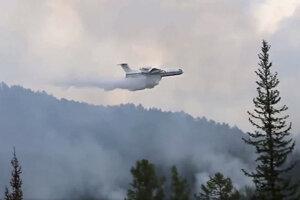 Na Sibíri vyčíňa takmer 300 lesných požiarov.