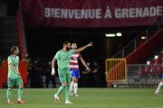 Karim Benzema sa raduje po strelenom góle.