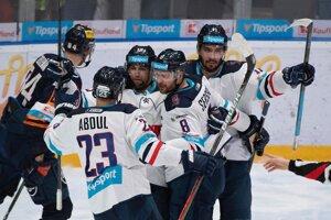 Hokejisti HC Slovan Bratislava - ilustračná fotografia.