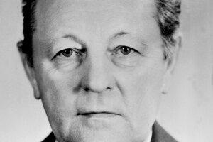 Miloš Jakeš na archívnej snímke z 21. decembra 1987.