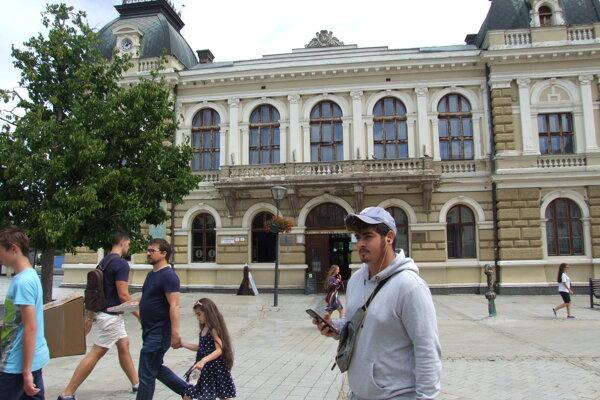 Ponitrianske múzeum má dnes sídlo na pešej zóne.