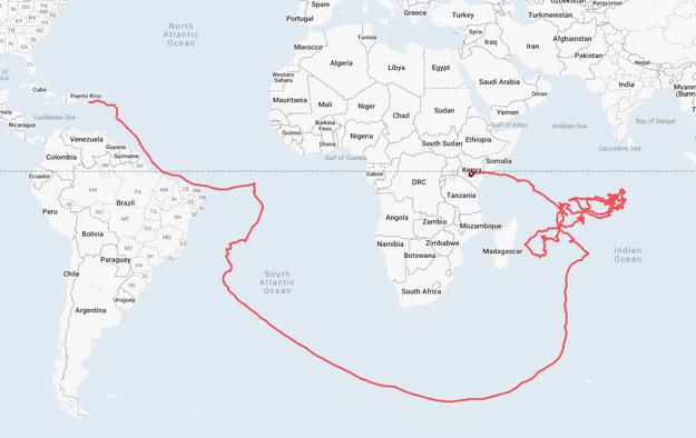 Projekt Loon: trasa balónov do Kene.