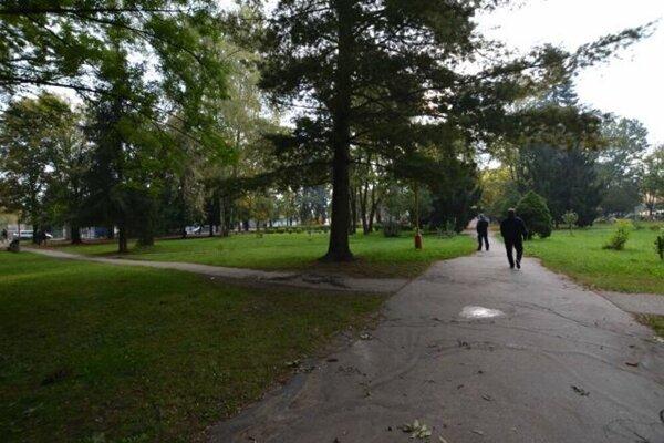Mestský park má zaujímavú históriu.
