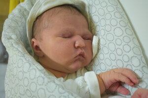 Júlia Foltánová (3920 g, 51 cm) sa narodila 19. júla Veronike a Michalovi z Vrbového.