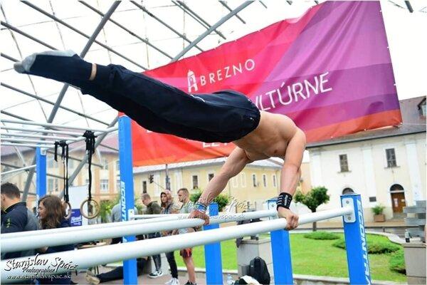 Dominik Klimek na júlovej súťaži v Brezne.
