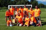 Víťazný tím 1. FC Franforce z Lipt. Ondrašovej