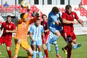 Miladin Vujošević prvý raz skóruje do siete Slovana B
