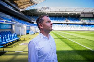 Pavel Komorník, predseda predstavenstva spoločnosti Grafobal Group development a firmy NFŠ, ktorej momentálne patrí Národný futbalový štadión.