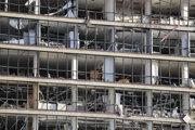 Výbuch v Bejrúte zničil množstvo budov.