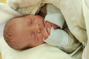 Jakub (2490 g, 46 cm) sa narodil 25.júla Zuzane a Jurajovi z Drietomy.