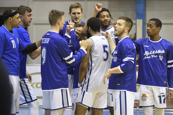 Káder basketbalistov Spišskej Novej Vsi je takmer kompletný.