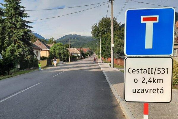 V okolí Muráňa a Prednej Hory platí mimoriadna situácia.