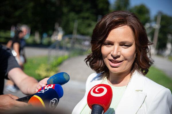 Veronika Remišová.