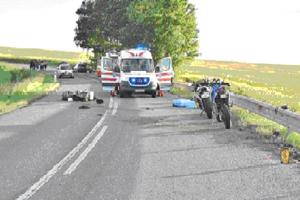 Pri nehode medzi Jamníkom a Odorínom zahynul motorkár.