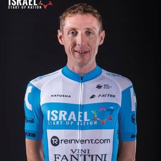 Dan Martin, cyklista, tím Israel Start-Up Nation