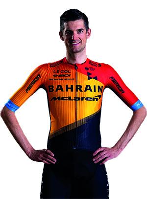 Wout Poels, cyklista, tím Bahrain - McLaren