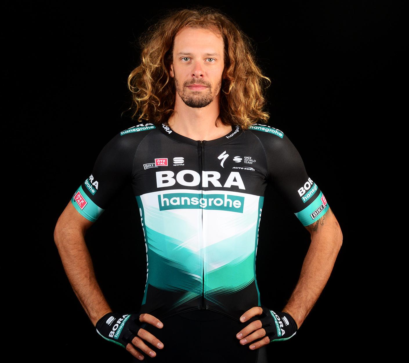 Daniel Oss, cyklista, tím Bora-Hansgrohe