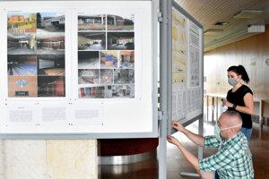 Výsledky staršej architektonickej súťaže sú aktuálne vystavené na magistráte.