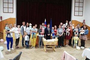 Privítanie detí v Krušetnici.