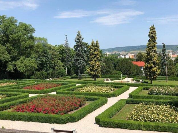 Terasy zámockého parku