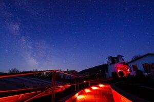 Areál Astronomického observatória na Kolonickom sedle