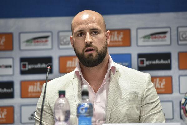 Generálny riaditeľ ŠK Slovan Bratislava Ivan Kmotrík ml.