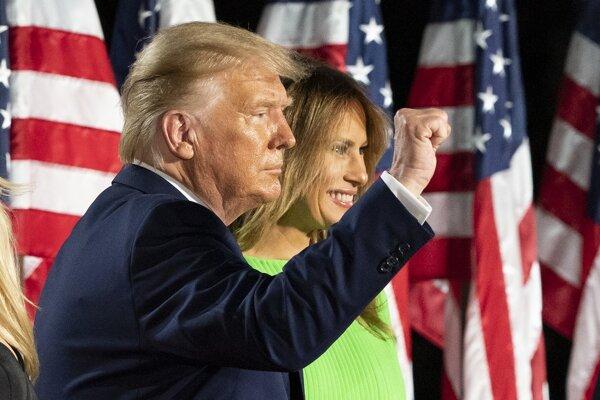 Donald Trump s manželkou Melanie.