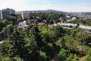 Pozemky Pavla Krúpu, ktoré skončili v dražbe.