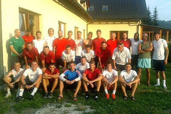 Futbalisti ŠKF Sereď boli na sústredení v Oščadnici.