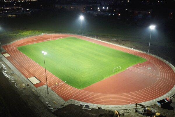 Takto vyzerá nový atletický štadión v Martine.