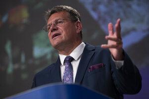Eurokomisár Maroš Šefčovič