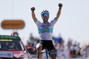 Alexej Lucenko vyhráva 6. etapu na Tour de France 2020.