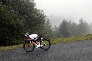 Marc Hirschi v 9. etape na Tour de France 2020.