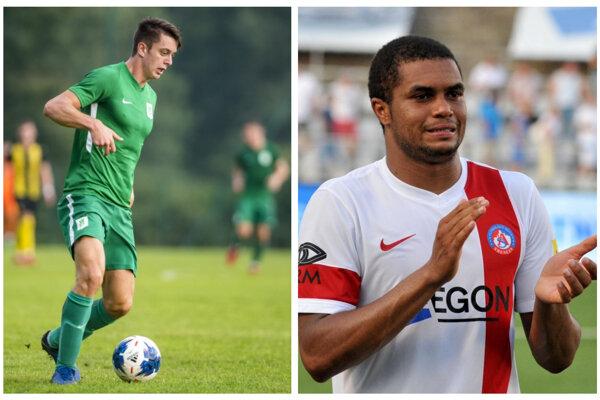 Rob Rudonja (vľavo) a Ramon. Od stredy posily FC Nitra?